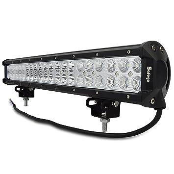 Amazonfr LED Barre De Travail W Phares Longue Portée Led - Feux longue portée led