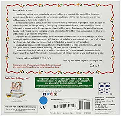 Elf on the Shelf: A Christmas Tradition (blue-eyed girl scout elf) by Overseas Editions