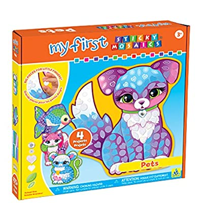The Orb Factory My First Sticky Mosaics Pets: Toys & Games