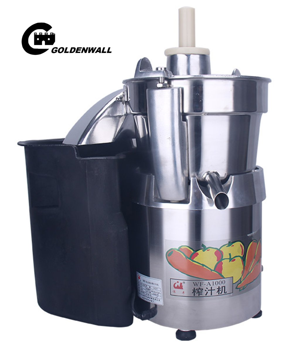 WF-A1000 Commercial large caliber Juice Extractor full stainless steel Juicer Juice machine Juicing machine Centrifugal Juicer Fruit and Vegetable juicer juice squeezer 750W 2800r/min 120-140kg/h