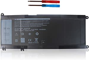 LXHY 33YDH 56Wh 15.2V, Laptop Battery Compatible with Dell Inspiron 15 7577 17 7000 17 7773 17 7779 2in1 G5 15 5587, Latitude 15 3590 15 3580, Vostro 15 7580, 4 Cells Replacement PVHT1 DNCWSCB6106B