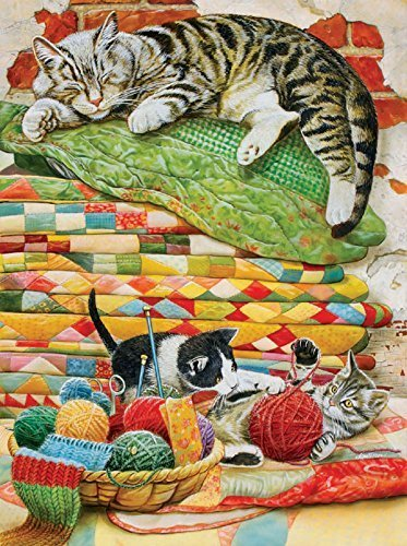 Mama's Sleeping - A 1000 Piece Jigsaw Puzzle by SunsOut by SunsOut