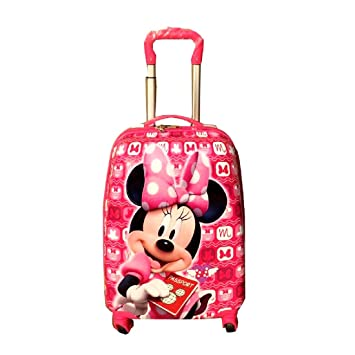 Color : A Accessories Bag Luggage Suitcase Child Trolley Case Luggage Cute Cartoon Four-Wheeled Tow Box 18 Inch Trolley Case Hand Luggage suitcases