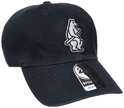 online store 57c38 9d086 Amazon.com    47 MLB Chicago Cubs Cooperstown Clean Up Adjustable Hat, One  Size, Columbia Logo   Clothing