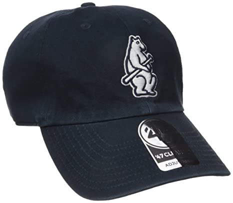 72964212f3fdb ... inexpensive 47 mlb chicago cubs cooperstown clean up adjustable hat one  size navy logo 7196d 249fa ...