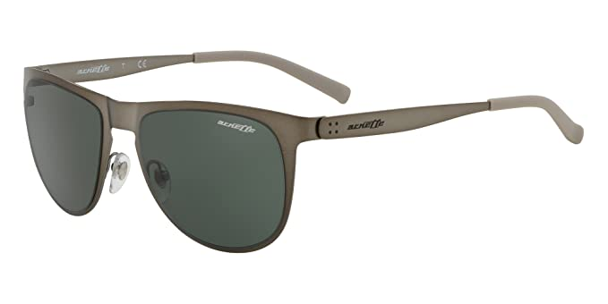 Arnette 0AN3077, Gafas de Sol para Hombre, Matte Gunmetal, 55