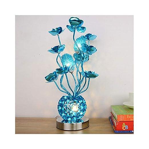 & Lámpara de escritorio Lámpara De Mesa LED Creativo Alambre De ...
