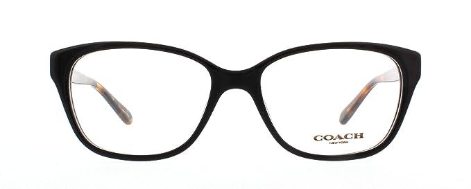 8ca911e9b5 Coach HC6103 5442 Full Rim (Black Black Tortoise) Cat Eye Spectacle ...