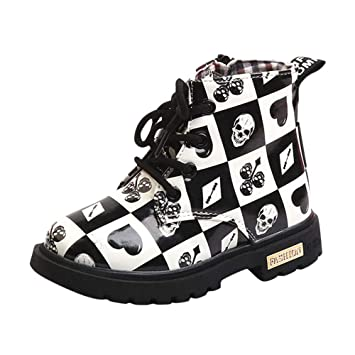 be996041b347f Halloween Enfants Bébé Martin Sneaker Bottes Timberland Bottines Chaussures