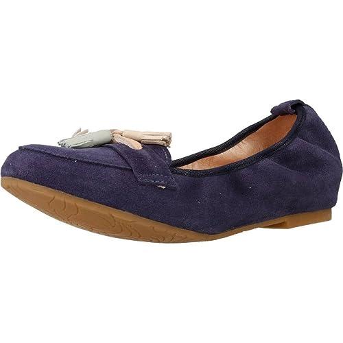 Mocasines para Mujer, Color Azul, Marca MIKAELA, Modelo Mocasines para Mujer MIKAELA 17010 Azul: Amazon.es: Zapatos y complementos