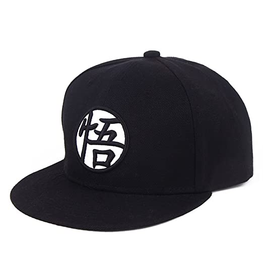 d21ee854521a1 PopCrew Hat for Dragonball Dragon Ball Z DBZ Anime Fan Cosplay Costume Snapback  Cap (Goku Black.) at Amazon Women s Clothing store