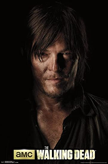 "The Walking Dead Daryl 24/"" x 36/"" poster print"