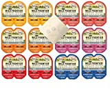 Nutro Perfect Portions Wild Frontier Variety Pack - 6 Total Flavors: Turkey, Chicken, Salmon, Beef & Chicken, Duck & Turkey, and Salmon & Trout (24 Servings, 12 Cans Total)