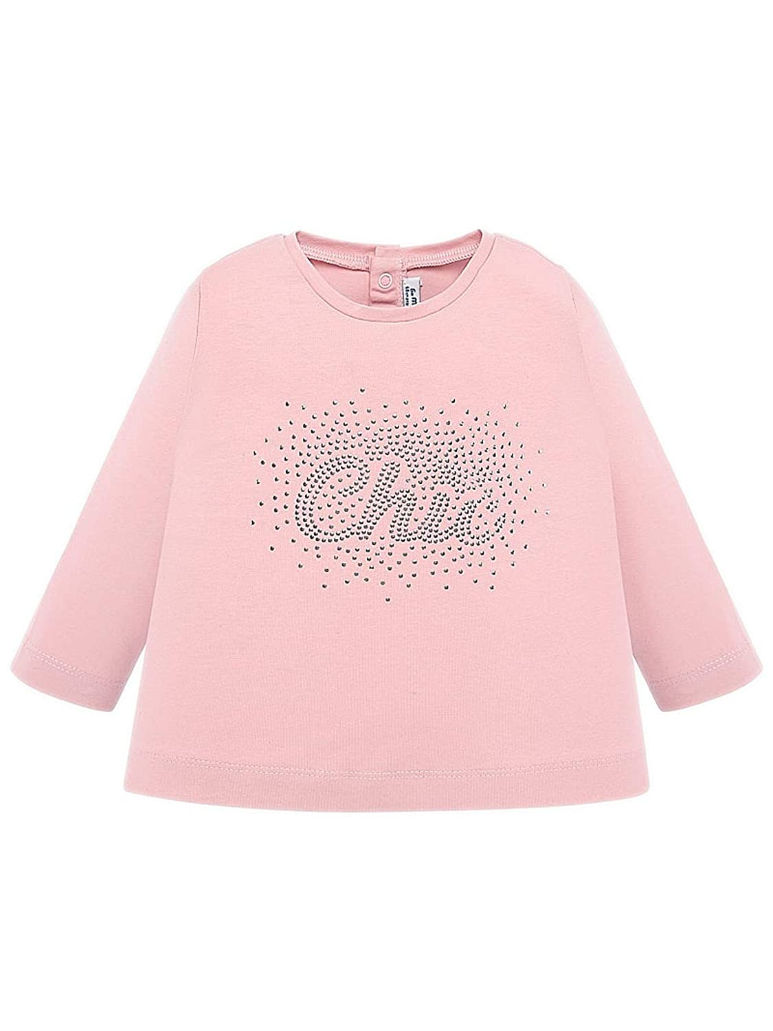 Mayoral L//s Basic t-Shirt for Baby-Girls Rose 0116