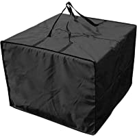 Outdoor Patio Furniture Seat Cushions Storage Bag with Zipper and Handles, 32''L X 32''W X 24''H Waterproof Rectangular…