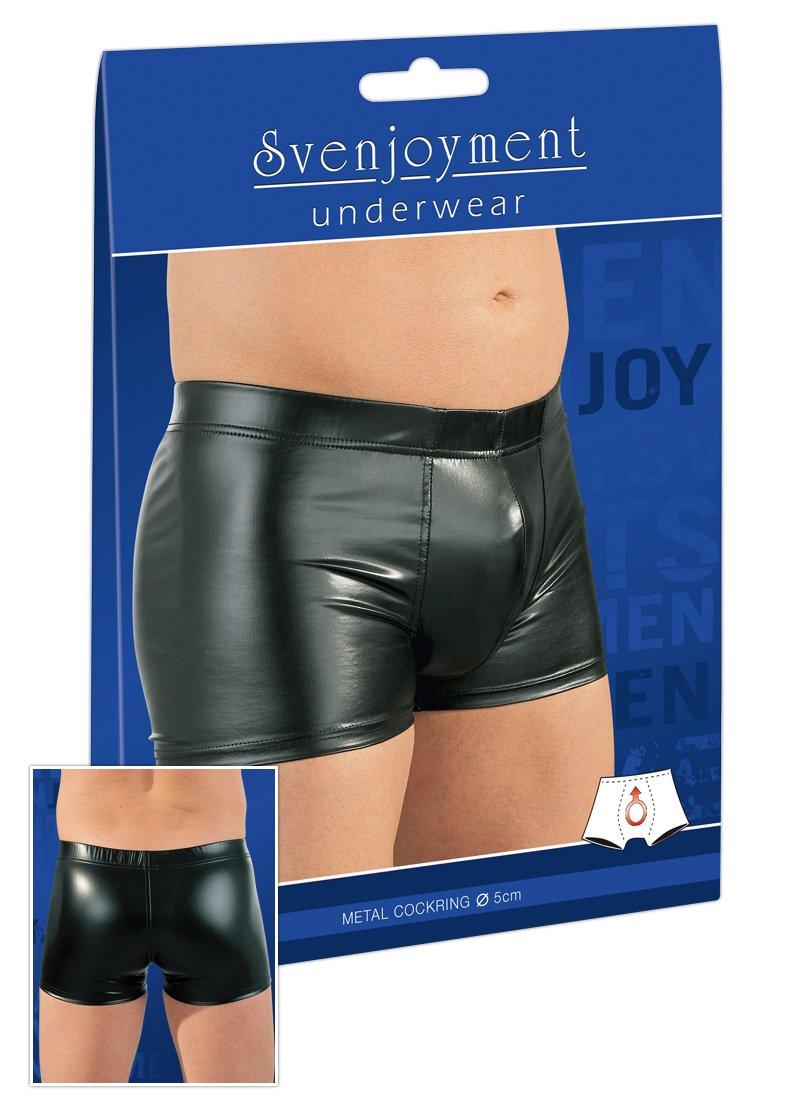 Svenjoyment Herren Penisring-Pants schwarz M Orion 21305051711