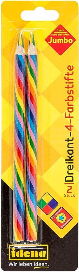 Malstifte,36 Stk. 36 Ergonomische Dreikant-Buntstifte für Erwachsene und Kinder