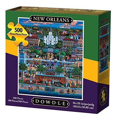 Dowdle Folk Art Jigsaw Puzzle - New Orleans -500 Pieces by Dowdle Folk Art (Image #1)