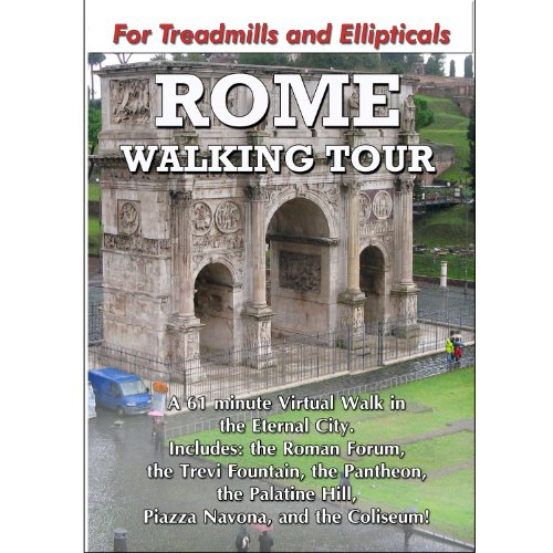 Rome Walking Tour for Treadmill (Vita Walking Dvd)