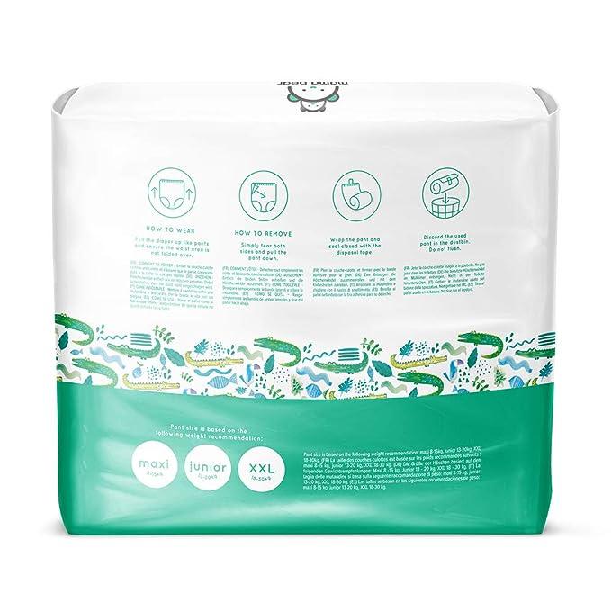 Marca Amazon- Mama Bear Pañal de aprendizaje maxi- Talla 4 (8-15kg), 88 pañales (2x44): Amazon.es: Salud y cuidado personal