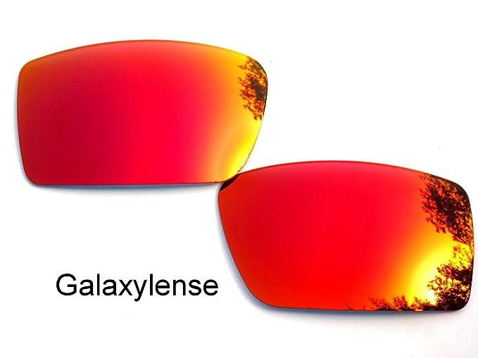 Galaxy Lentes De Repuesto Para Oakley Gascan ROJO INTENSO COLOR Polarizados - ROJO INTENSO, regular
