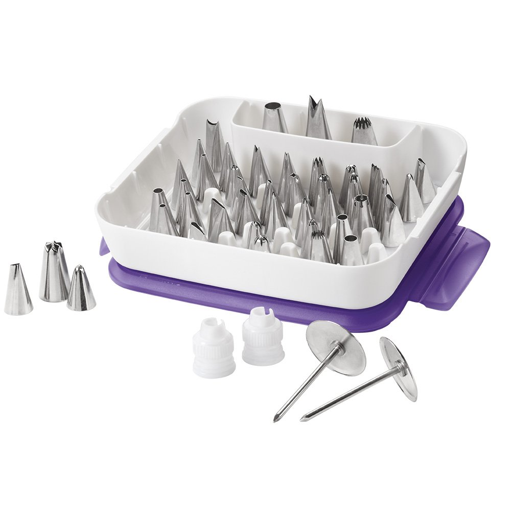 Wilton Master Decorating Tip Set, 55-Piece