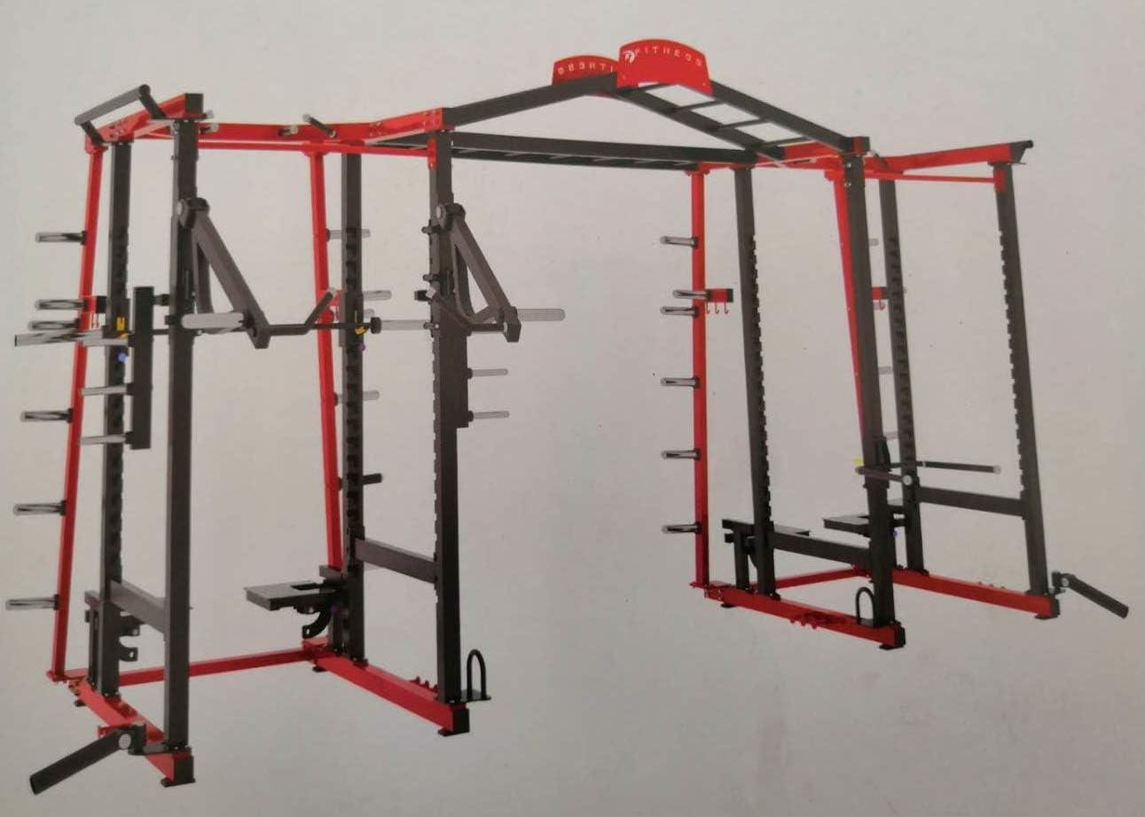 Grupo Contact Máquina Multi estacion. Estructura Crossfit Mod ...