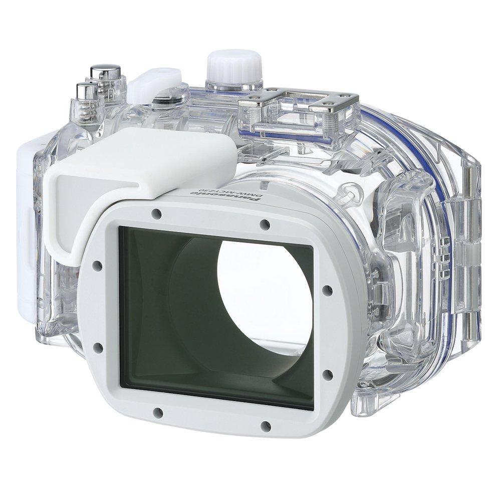 Panasonic dmw-mctz30 Marine Case for Lumix DMC -選択カメラ(ホワイト/クリア)   B007OS2B08
