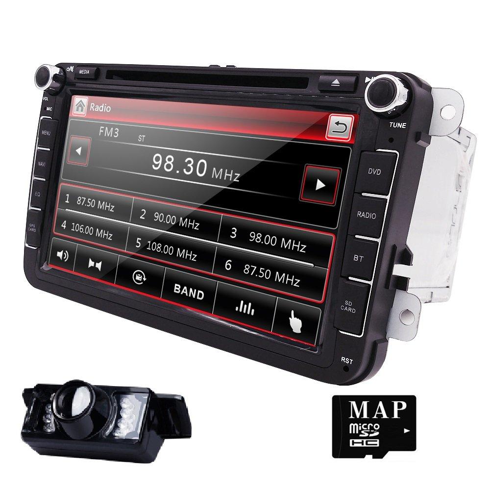 Hizpo Car Radio for Volkswagen/Skoda/Seat/Moniceiver: Amazon.de ...