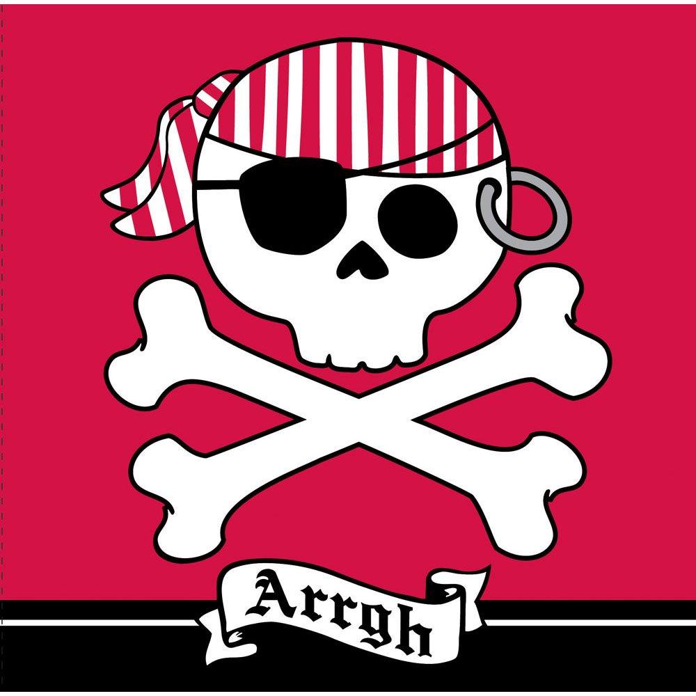 海賊パーティーArrgh 3本Lunch Napkins B00NJP6AQ6
