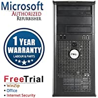 Dell 380 Business High Performance Tower Desktop Computer PC (Intel Core 2 Quad Q8200 2.33GHz,8G RAM DDR3,1TB HDD,DVD-ROM,WIN10Home 64 (Certified Refurbished)
