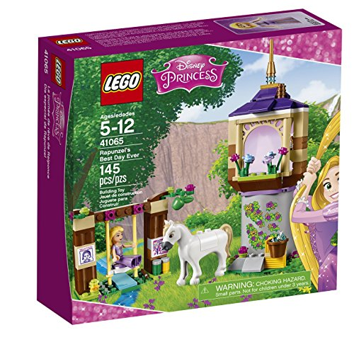LEGO Disney Princess 41065 Rapunzel's Best Day Ever Building Kit (145 Piece)