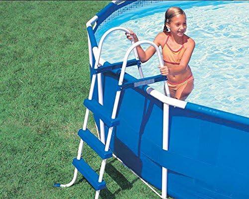 Intex 28060 escalera escalera para piscina piscinas Easy Frame H ...