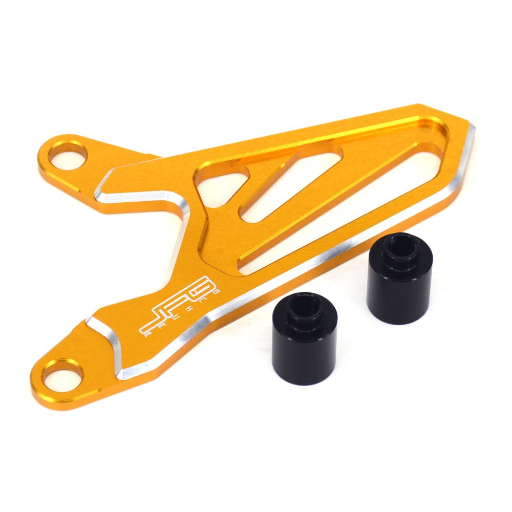 JFG RACING CNC Front Sprocket Cover Guard Protector For Suzuki DRZ400S DRZ400SM 2000-2016