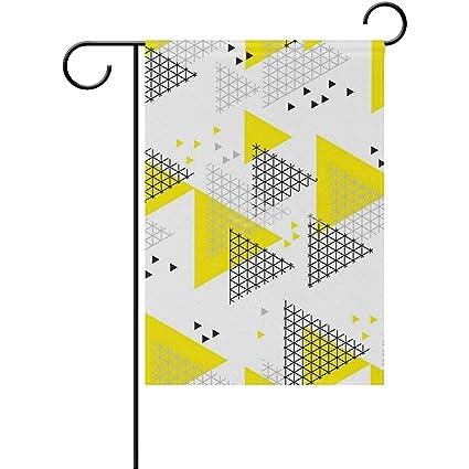 Amazon com : Staroind Geometry Design Triangle Motif Double