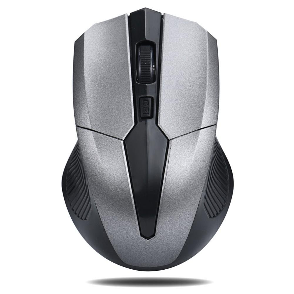 Beautyvan 2.4GHz Wireless Gaming Mouse USB Receiver Pro Gamer for PC Laptop Desktop (B)