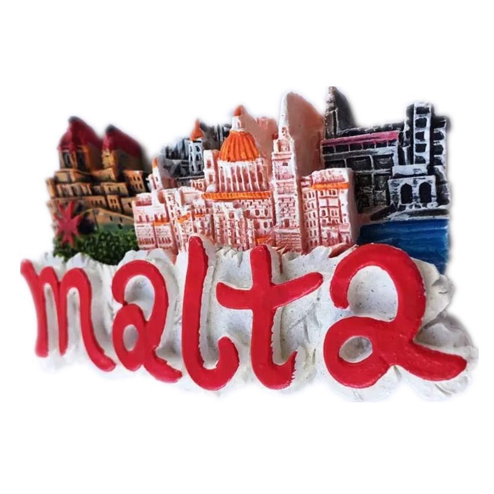 Amazon.com: Malta World - Imán para nevera con diseño de ...