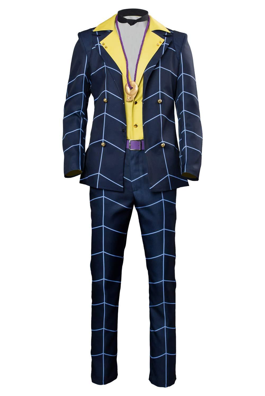 rotJade Anime JoJo's Bizarre Adventure  Golden Wind Prosciutto Cosplay Kostüm Herren XL B07PXJL9QQ Kostüme für Erwachsene Neuankömmling  | Merkwürdige Form