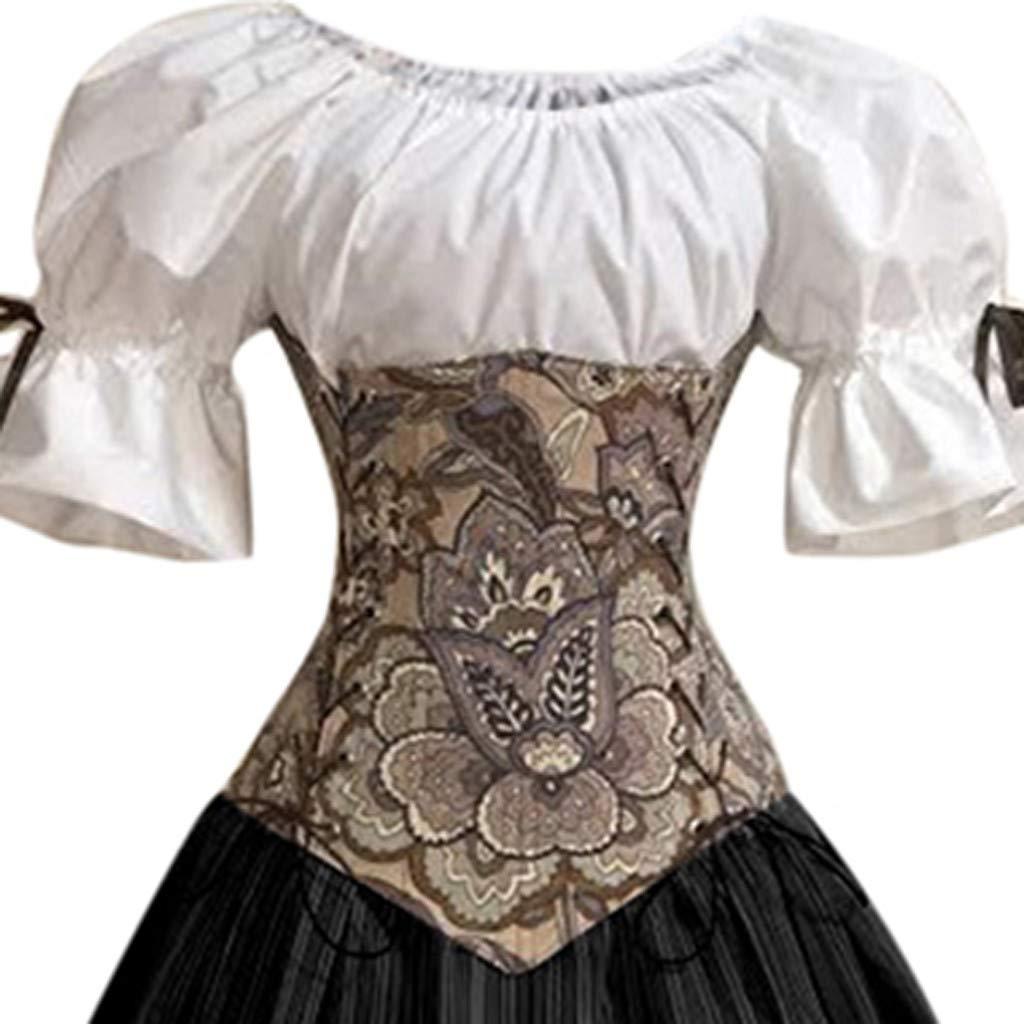 Vestidos De Fiesta Mujer Tallas Grandes De Halloween Fossenfeliz Disfraz Bruja Mujer Gotico Disfraces Medievales Princesa Reina Ceremonia Y Eventos