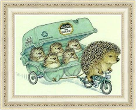 5D Diamond Painting Full Hedgehog /& dandelion Pattern Drill Embroidery Cross Stitch Craft Wall Art Pictures Home Decoration