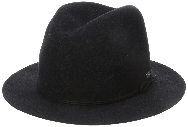 Coal Women's The Drifter Crushable Wool Felt Short-Brim Fedora Hat Coal Women' s Accessories 2001