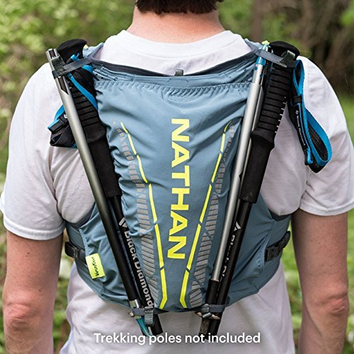 Nathan NS4536 Vaporkrar Hydaration Pack Running Vest with 1.8L Bladder, Blue Stone, Small by Nathan (Image #7)