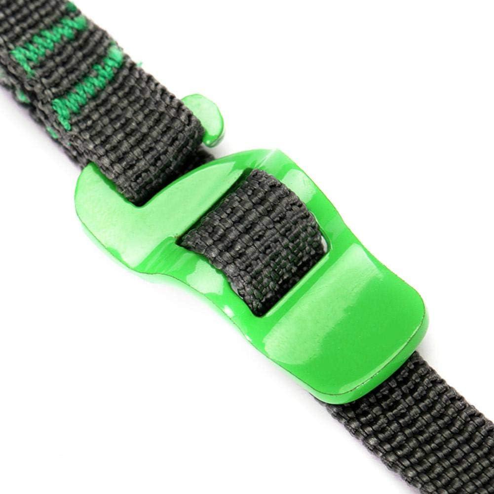 yanten Fibbia di Fissaggio per Cintura di carico Auto Forte cricchetto Cinghie di Fissaggio Bagagli Green