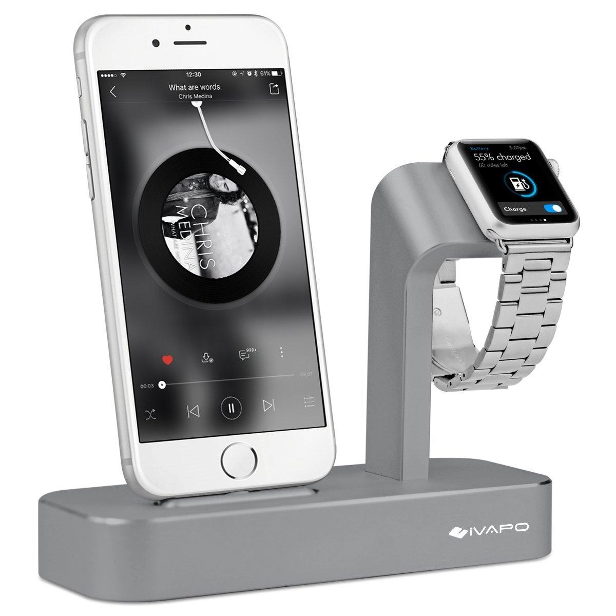Oittm Apple Watch y soporte 2 en 1Apple Watch iPhone ...