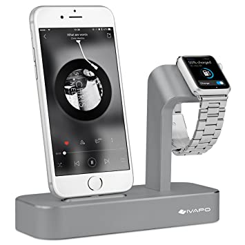 Oittm Apple Watch y soporte 2 en 1Apple Watch iPhone ...