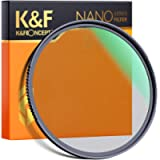 K&F Concept 72mm Black Diffusion Filter 1/4 Mist Soft Glow Diffuser Lens Filters