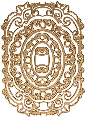Spellbinders S6-088 Nestabilities Label 55 Decorative Element Etched/Wafer Thin Dies