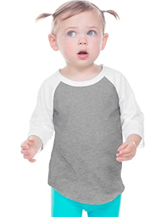6f7aac6a Amazon.com: Kavio! Infant Jersey Contrast Raglan 3/4 Sleeve: Clothing