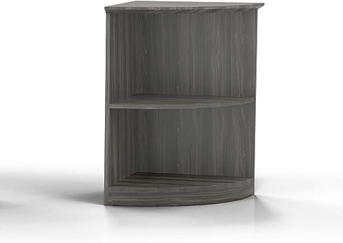 Safco Bookcase, Gray Steel