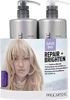 product image for Paul Mitchell Repair And Brighten Blonde Trio Set